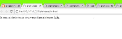elemen <abr>