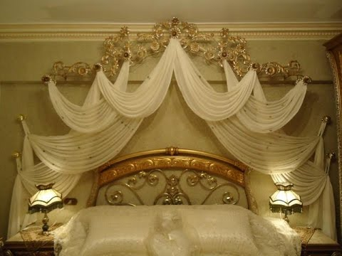 27 Modern Curtains Behind Bed Will Make The Bedroom Special