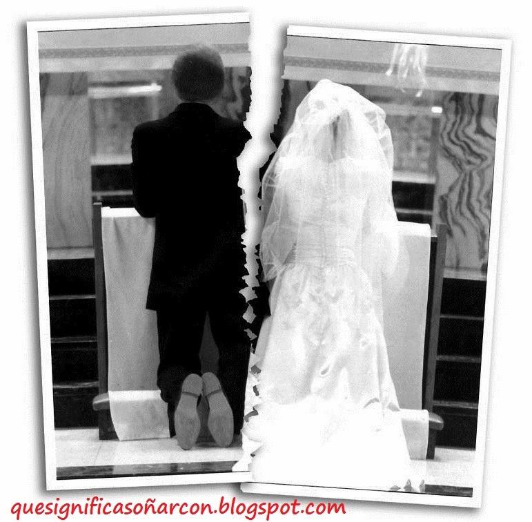Matrimonio Que Significa : Que significa soÑar con divorcio soñar