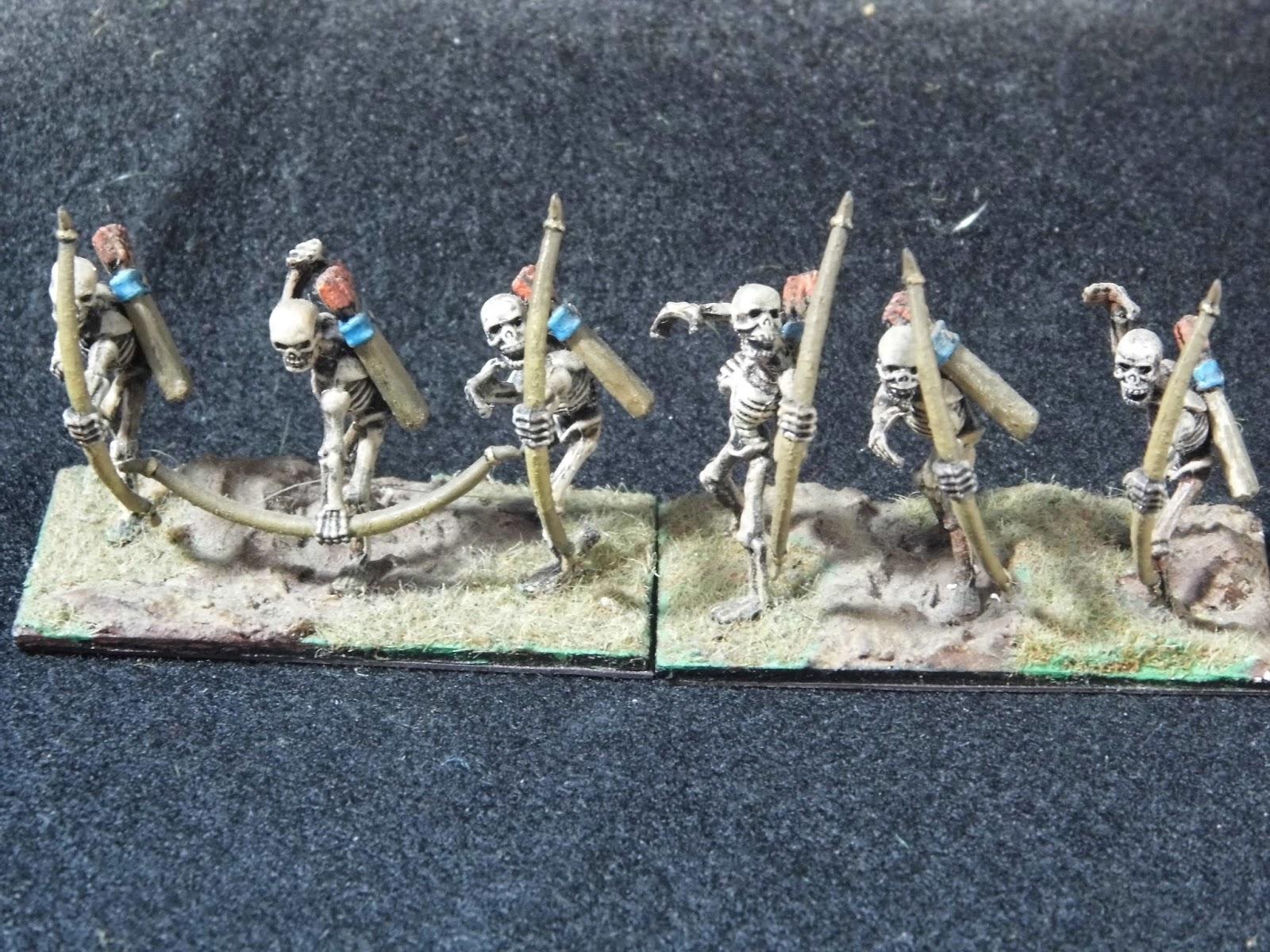 Model kits and Wargames: HoTT 28mm Skeletons