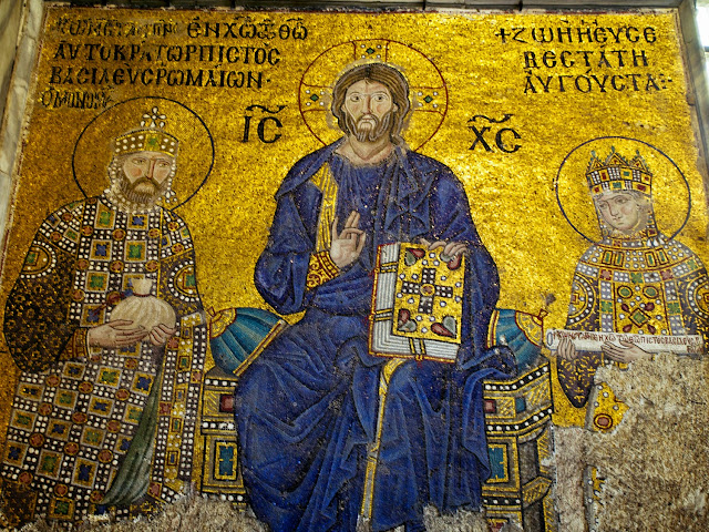 Santa Sofía, Mosaico de Zoe