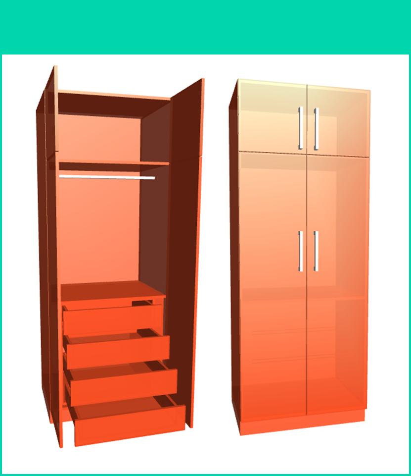 Dise o de muebles madera construcci n de closet modulares for Aplicacion para disenar armarios