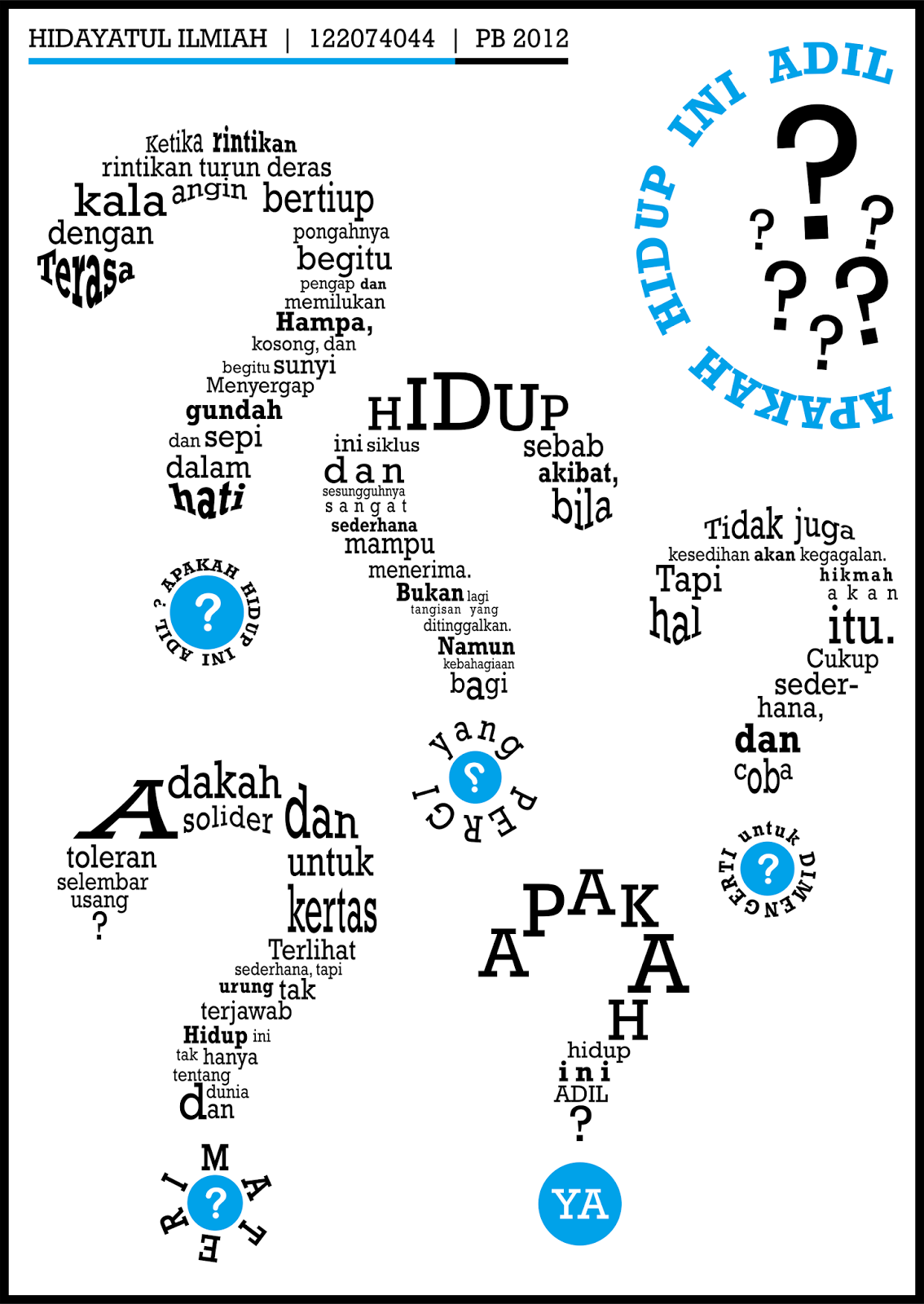 Contoh Puisi Tipografi : contoh, puisi, tipografi, Puisi, Tipografi