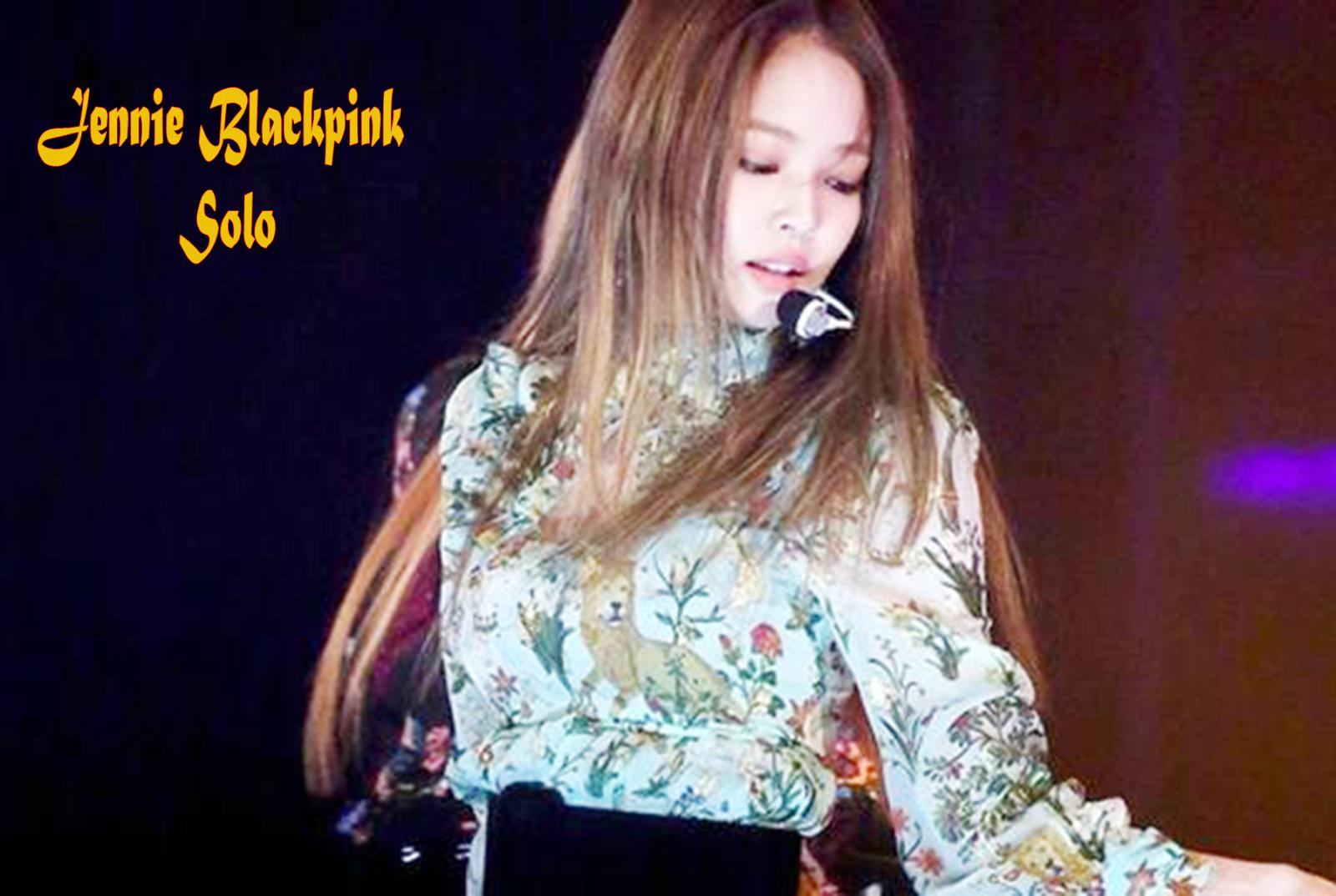 Jennie blackpink solo lirik