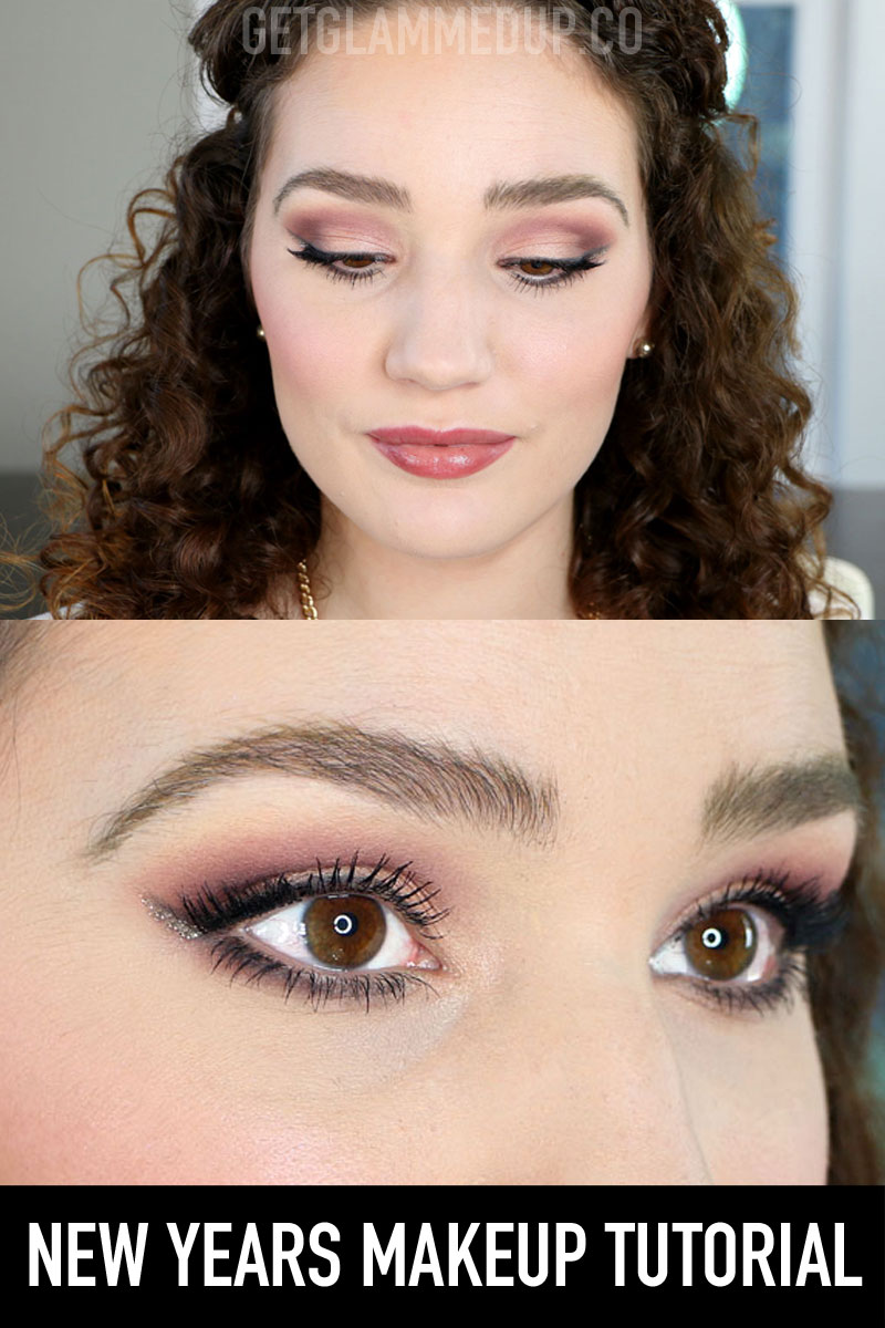 New Years Makeup Tutorial using Urban Decay Naked Cherry Collection