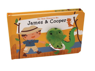 My Best Friend & Me: James & Cooper Finger Puppet Book