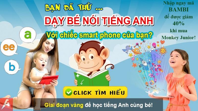 Monkey Junior – Quà tặng tri thức cho con!