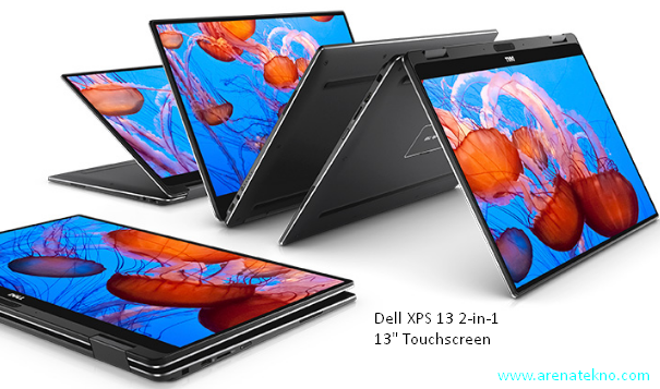 Arenatekno.com - Laptop Dell XPS 13 2-in-1 Dikemas Dengan Sampah Laut