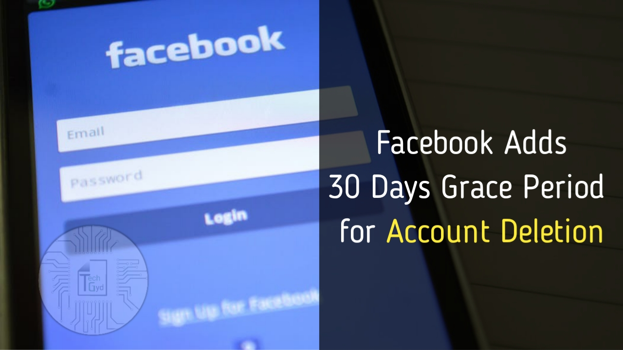 As a result of which they have extended grace period of Account Deletion from 14 days previously to 30 days!!!