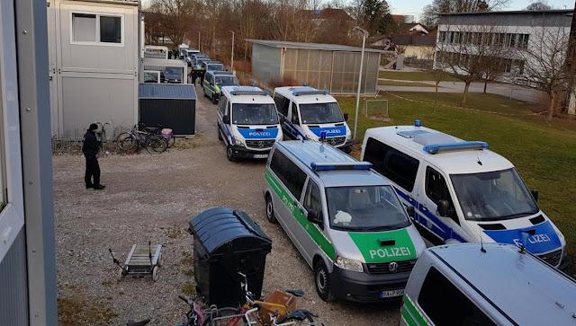 Razzia in Asyl-Unterkunft. Diesmal Bad Aibling