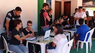 Declaração do Imposto de Renda: estudantes do UNIFESO em atendimento na Feirinha do Alto