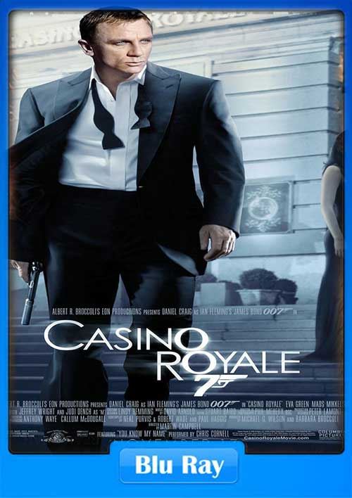 Casino Royale 2006 480p BRRip 400MB x264 Poster