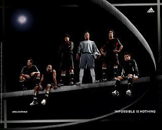 Adidas Football Beckham Kaka Ballack Impossible is nothing Ads HD Wallpaper