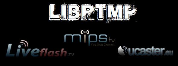 Como actualizar la librería LIBRTMP para visualizar emisiones de MIPS, LIVEFLASH y UCASTER