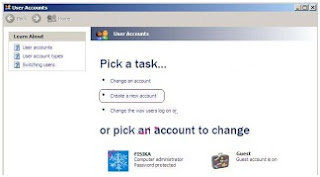 Membuat User Account Windows