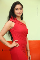 Actress Zahida Sam Latest Stills in Red Long Dress at Badragiri Movie Opening .COM 0003.JPG