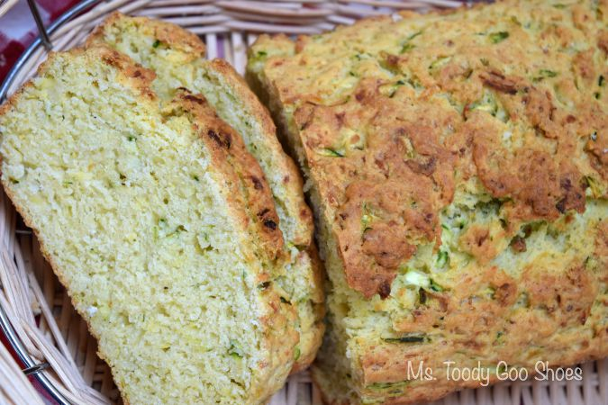 Zucchini Parmesan Bread | Ms. Toody Goo Shoes