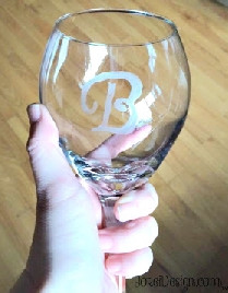 etched glassware diy etching stencils