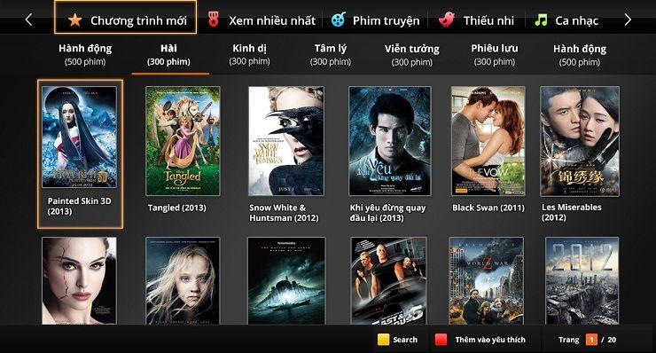 Kho Phim Truyện truyền hình Fpt