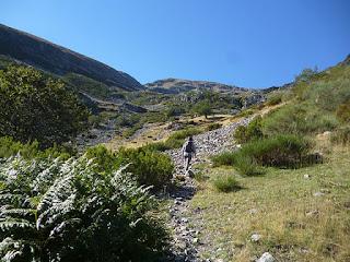 Vertiente norte del San Millán. Sierra de la Demanda