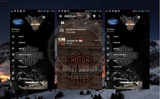 Download BBM Mod Tema Harley Davidson v2.11.0.18