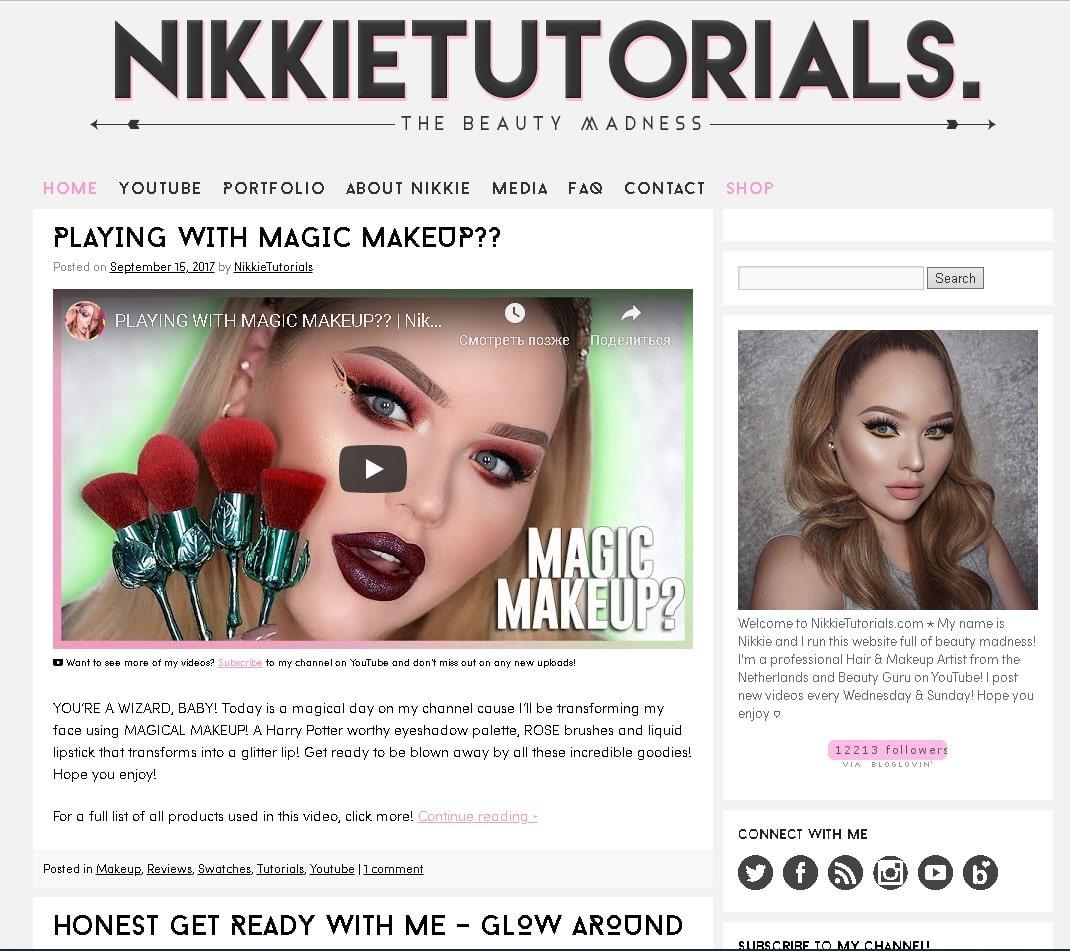 kak-nachat-beauty-blog-sajt-nikkietutorialscom-skrinshot