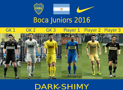 Boca Juniors 2015/2016 update 5