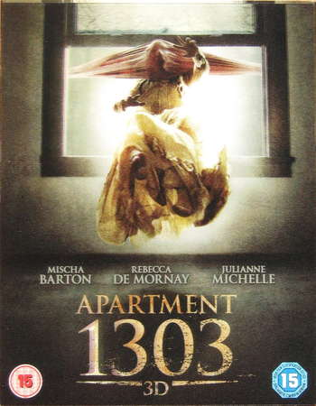 Poster Of Apartment 1303 2012 Dual Audio 720p BRRip [Hindi - English] Free Download Watch Online