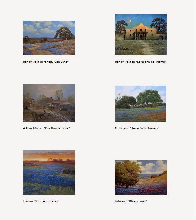 J R  Mooney Galleries of Fine Art: Texas Size Celebration