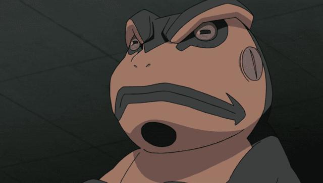 katak penjaga gulungan