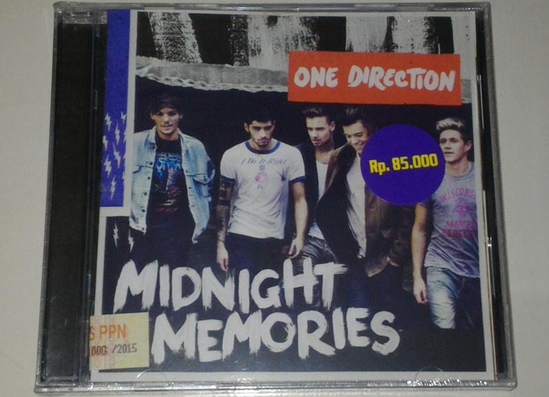 CD One Direction - Midnight Memories Bonus Postcard