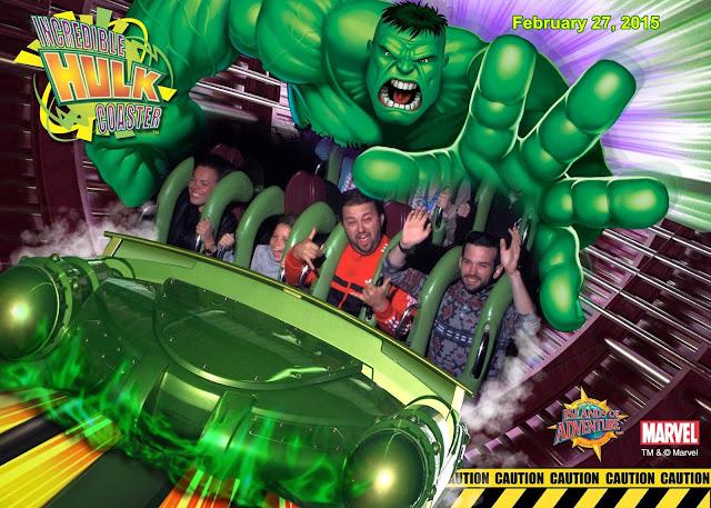 The Incredible Hulk Coaster, a montanha russa mais maravilhosa do Island