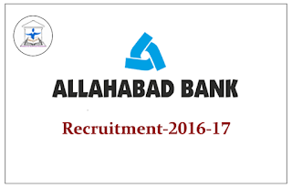 Allahabad Bank Recruitment Project 2016-17