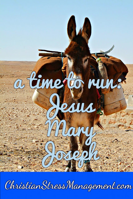 A Time to Run:Jesus, Mary and Joseph