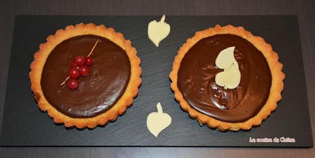"""Tartaletas de chocolate"""" de Paco Torreblanca - La cocina de Catina"""