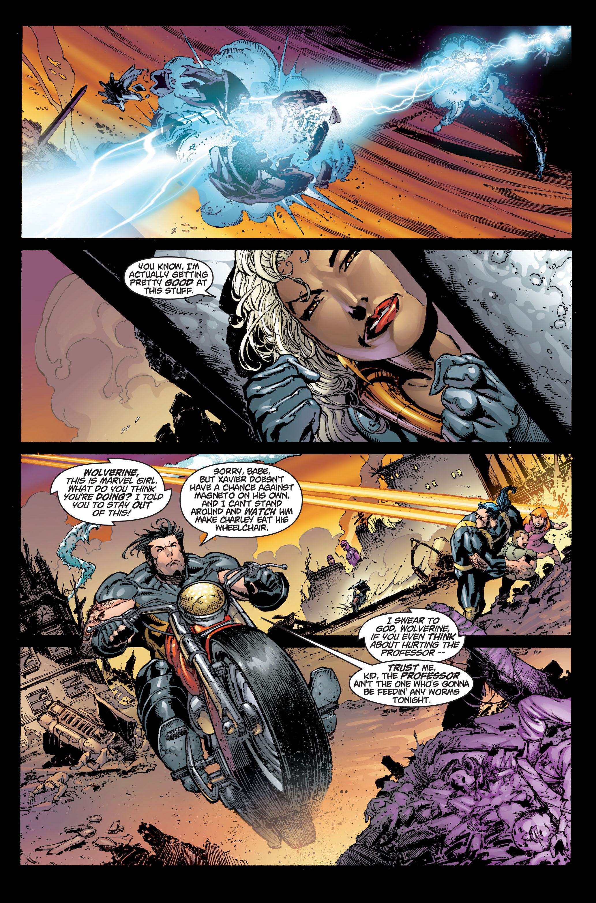 Read online Ultimate X-Men comic -  Issue #6 - 9
