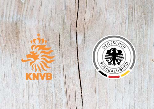Netherlands vs Germany Full Match & Highlights 24 March 2019