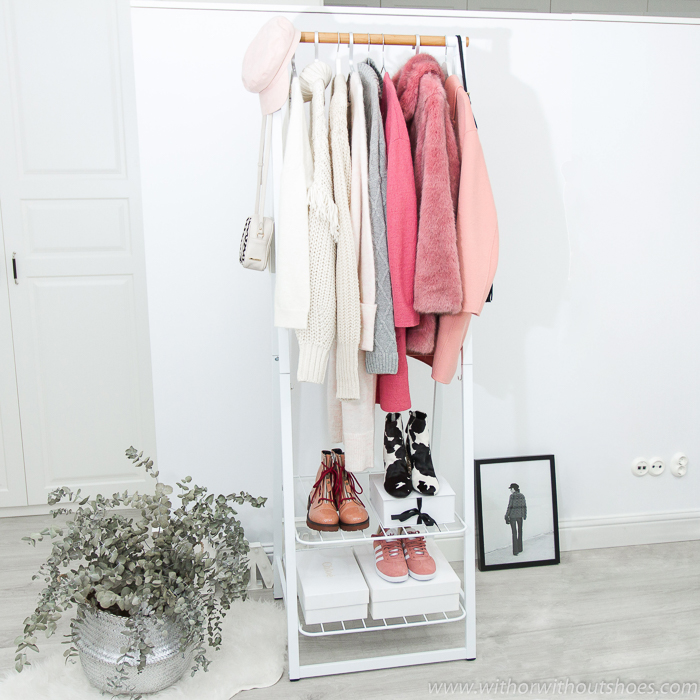 blogger influencer decoracion estilo nordico lifestyle consejos orden espacio ropa con el perchero burro de la colección Linn de Brabantia