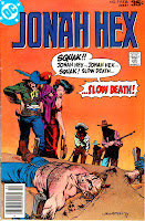 Jonah Hex v1 #9 dc western comic book cover art by Bernie Wrightson