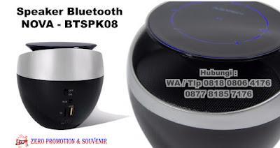Jual Speaker Bluetooth Promosi custom Murah, Grosir Speaker Promosi, Bluetooth Speaker Nova BTSPK08, merchandise promosi Speaker Portable