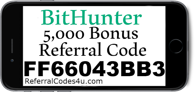 BitHunter App Referral Code, Sign up Bonus, Promo Codes & Reviews 2021