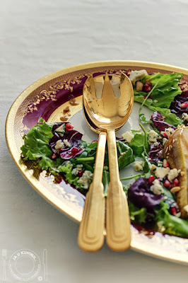 Pear Salad With Hazelnut Vinaigrette