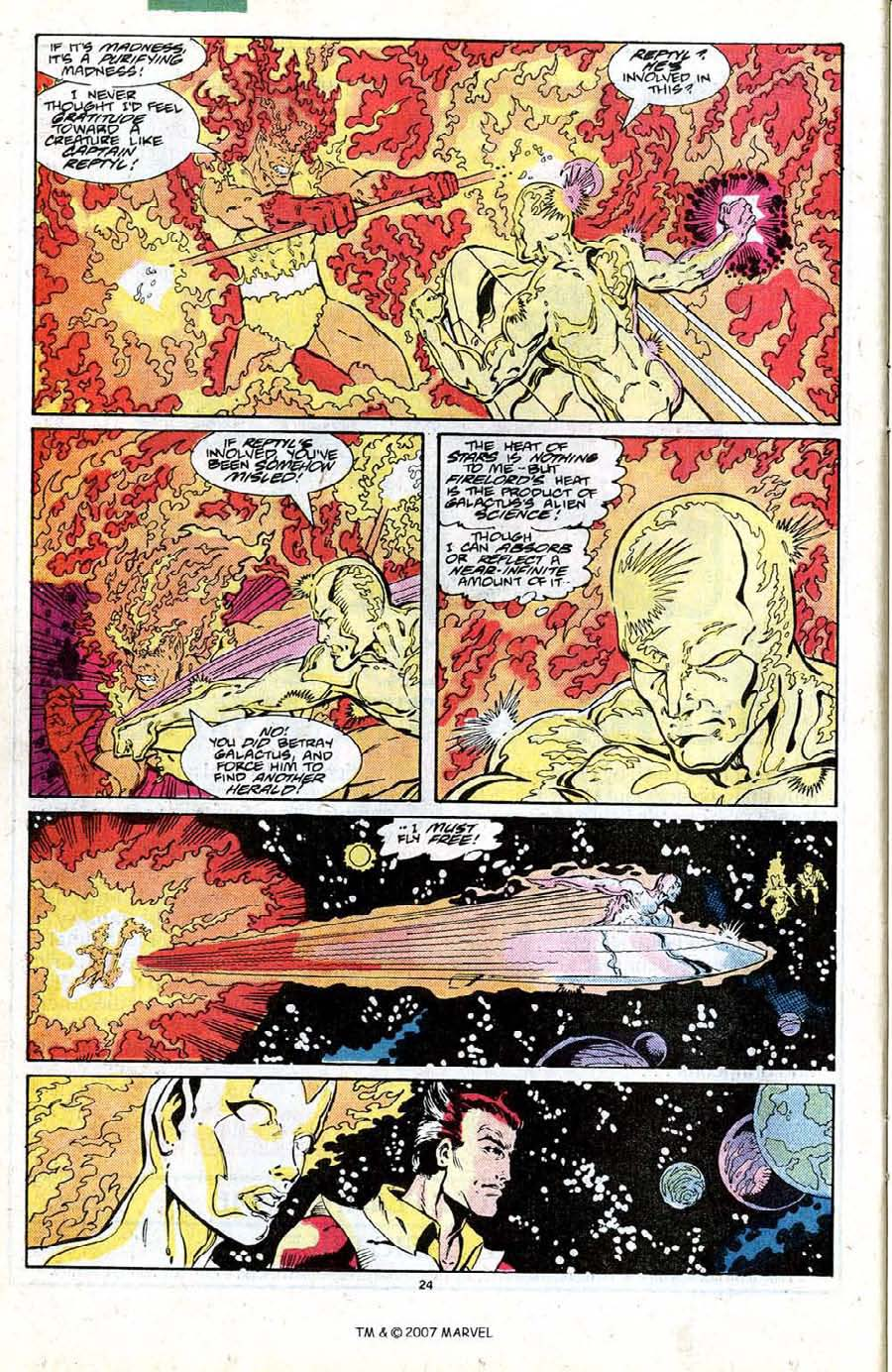 Read online Silver Surfer (1987) comic -  Issue #19 - 26