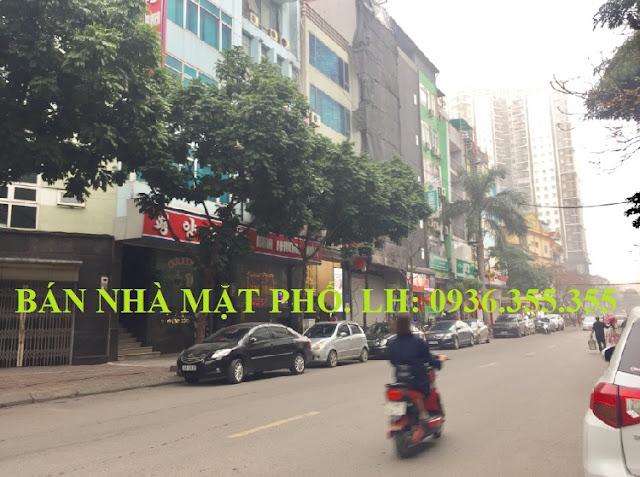 Bán nhà mặt phố Nguyễn Thị Định