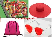 Logo Compra Pringles e ricevi 10.000 regali: occhiali, sacche e cappelli in paglia come premi certi!