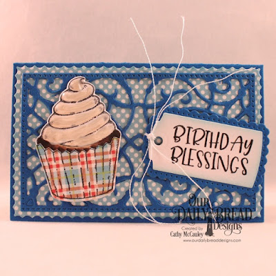 Our Daily Bread Designs Stamp/Die Duos: All God's Blessings, Paper Collection: Birthday Brights, Custom Dies: Gift Card Holder, The Gift Giving Box, A Gift For You
