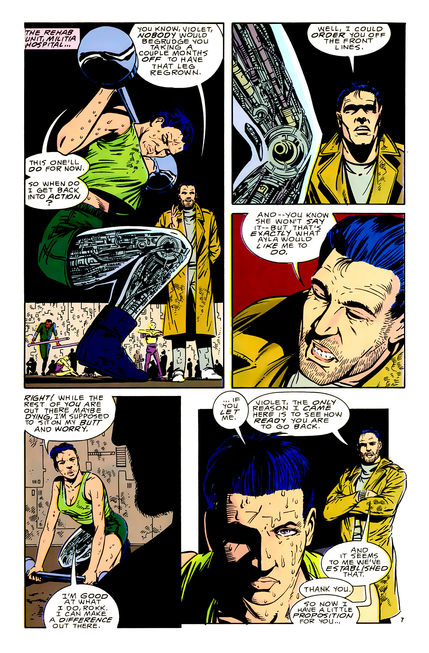 Legion of Super-Heroes (1989) 16 Page 7