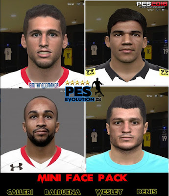 PES 2016 Mini Facepack Brasileirao by Smith Facemaker