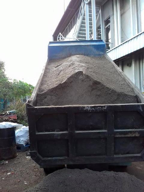 pasir untuk plester