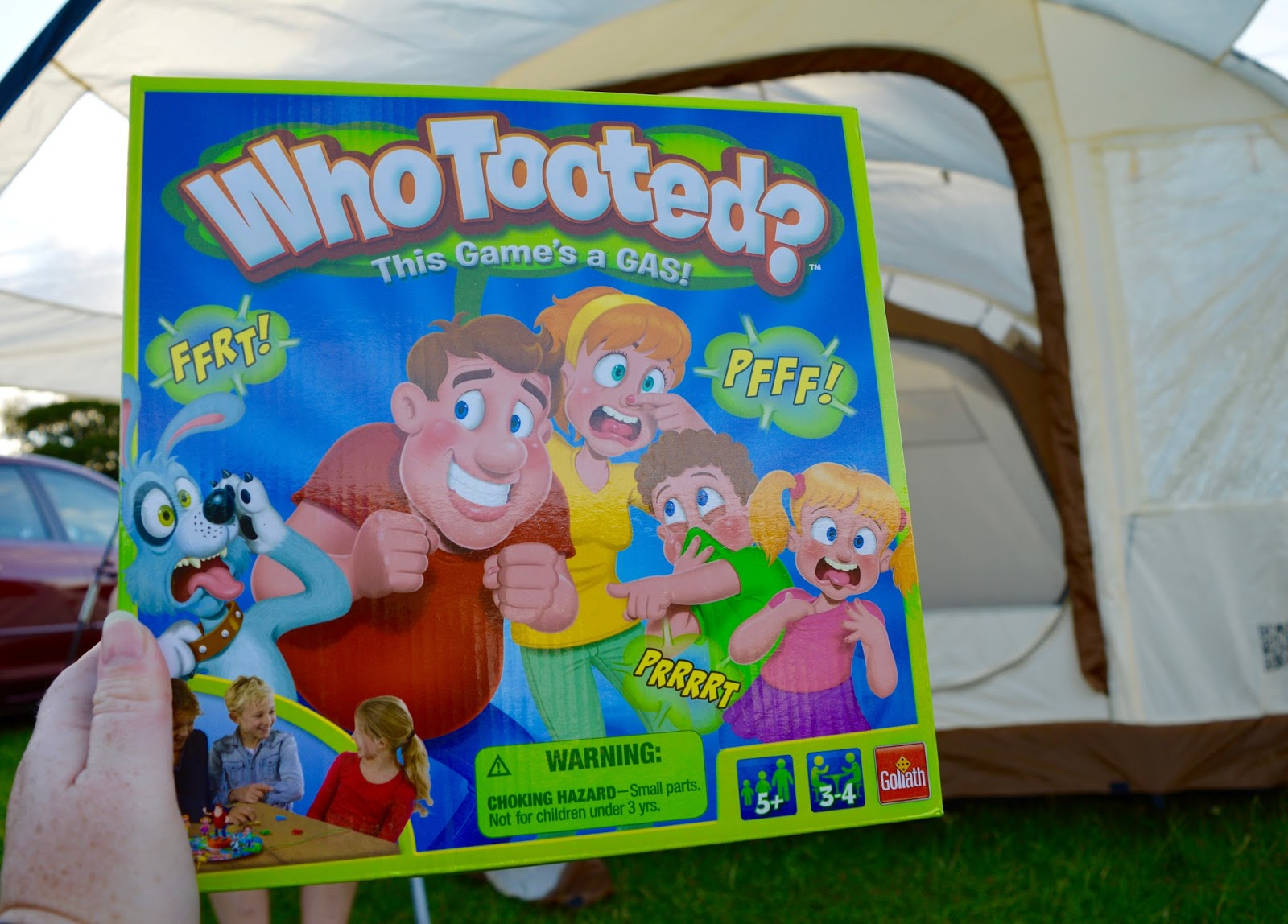 Who Tooted? Review & Giveaway